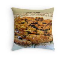 My favorite Apple Galette ... Throw Pillow