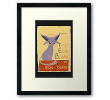 Eon Blanc (Pokemon) Framed Print