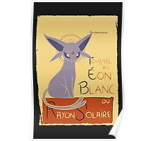 Eon Blanc (Pokemon) Poster