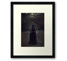 Black Queen Framed Print