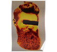 Ned Kelly Graffiti - Southgate at Crown Poster