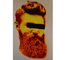 Ned Kelly Graffiti - Southgate at Crown Photographic Print