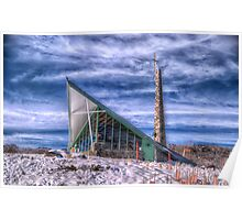 Snowtime Religion - Perisher Valley, NSW - The HDR Experience Poster