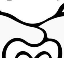Mickey G-l-o-v-e Couple Shirt Sticker