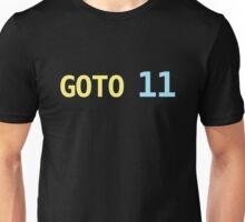 GOTO 11 Unisex T-Shirt