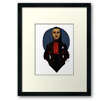 Punk!Uhura Clear Framed Print