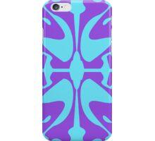 Cyan & Purple Design for iPhone & iPod iPhone Case/Skin