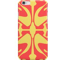 Red & Yellow Design for iPhone & iPod iPhone Case/Skin