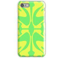 Green & Yellow Design for iPhone & iPad iPhone Case/Skin