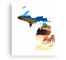 Michigan Beach Canvas Print