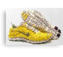 Fruit & Vegetable Running Shoes Canvas Print