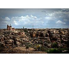 Ruins at Two Guns Photographic Print