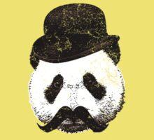 Fancy Panda (Close Up) Kids Clothes