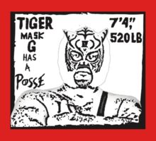 Tiger Mask G Has A Posse Kids Clothes