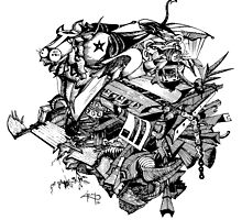 Junkyard Fusion by Saurabh Dey