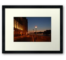 Conciergerie at Night Framed Print
