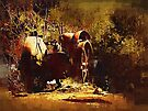 the old tractor by Albert