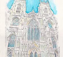Lincoln Cathedral  by adrienne75