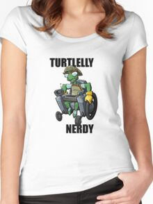 Bentley - turtlelly nerdy! Women's Fitted Scoop T-Shirt