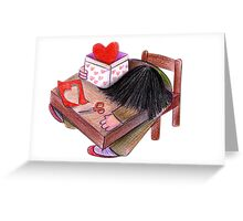Pain in box Greeting Card