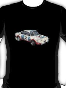 VINTAGE RALLY CAR. T-Shirt