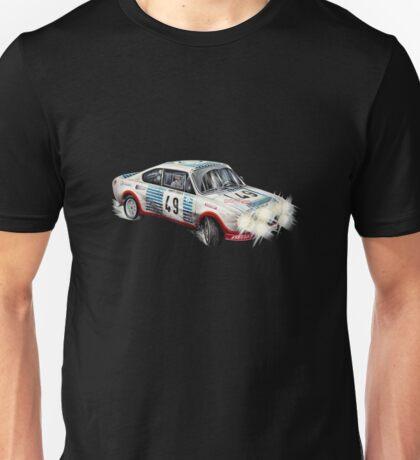 VINTAGE RALLY CAR. Unisex T-Shirt