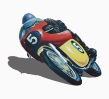 VINTAGE RACING MOTORCYCLE. Kids Clothes
