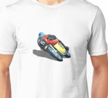 VINTAGE RACING MOTORCYCLE. Unisex T-Shirt