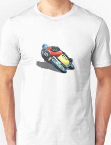VINTAGE RACING MOTORCYCLE. T-Shirt