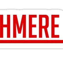 Cashmere Cat - Red Sticker
