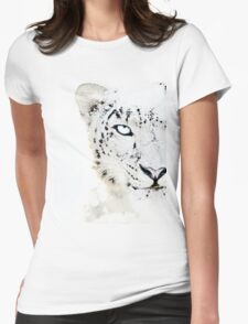SNOW CAT * LIMITED EDITION * Womens Fitted T-Shirt