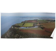 Table Cape - Wynyard - from the air!  Poster