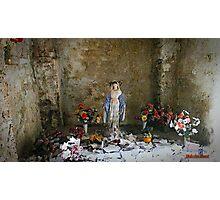 """ The tiny Altar"" Photographic Print"