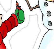 Snowman Bully Sticker