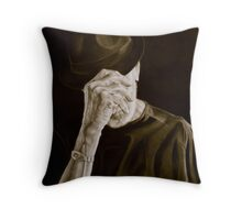 hat trick Throw Pillow