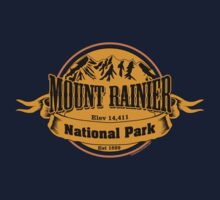 Mount Rainier National Park, Washington  Baby Tee