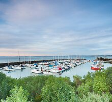 New Haven Marina, Phillip Island by WavesPhotograph