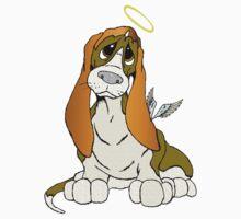 Angel Puppy One Piece - Short Sleeve