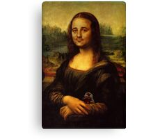 Bill Murray as Mona Lisa Canvas Print