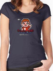 Villager 8 bit Women's Fitted Scoop T-Shirt