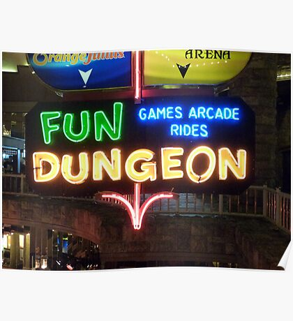 Vegas Fun Dungeon Poster