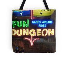 Vegas Fun Dungeon Tote Bag