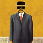 Magritte - Son of Man Parody by Charles McFarlane