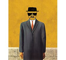 Magritte - Son of Man Parody Photographic Print