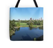NYC View in Central Park Tote Bag