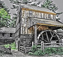 Grist Mill by Caleb Ward