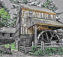 Grist Mill by Caleb Ward