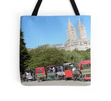 NYC Central Park Carriages Tote Bag