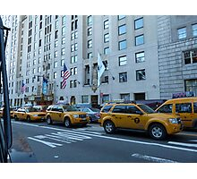 NYC Taxis Photographic Print