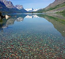 Lake St Mary, Montana by Harry Oldmeadow